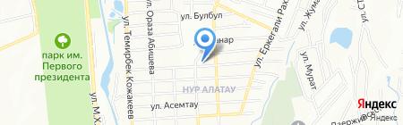 Алатау на карте Алатау