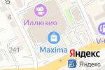 Схема проезда до компании Never give up в Алматы