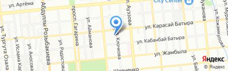 Береке продуктовый магазин на карте Алматы