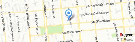 Общеобразовательная школа №128 им. М. Ауезова на карте Алматы