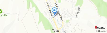 Kinder Land на карте Алматы