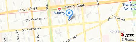 Mitsubishi на карте Алматы