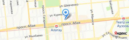 Департамент статистики г. Алматы на карте Алматы