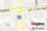 Схема проезда до компании Home for you в Алматы