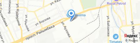 Хабад Любавич еврейский центр на карте Алматы