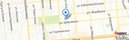LUSH Казахстан на карте Алматы