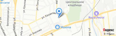 Демалыс на карте Алматы