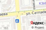 Схема проезда до компании Real Plast в Алматы
