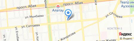 TEZ TOUR на карте Алматы