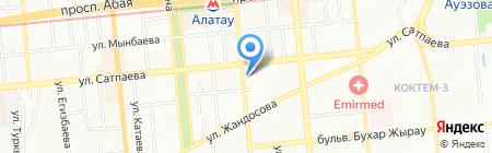 Ракурс-S на карте Алматы