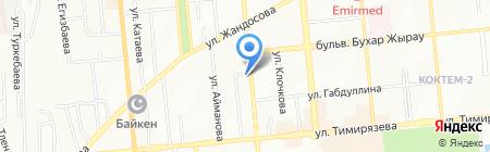 Шарм салон красоты на карте Алматы