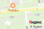 Схема проезда до компании Сыра-Пиво в Алматы