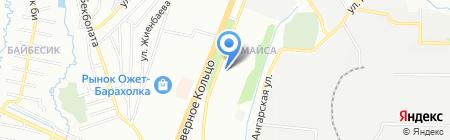 Шолпан продуктовый магазин на карте Алматы