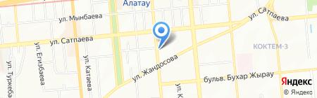 Сфера-28 на карте Алматы