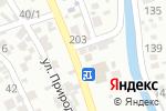 Схема проезда до компании Тянь-Шань в Алматы