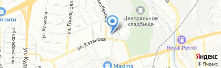 Комплексный Сервис на карте Алматы
