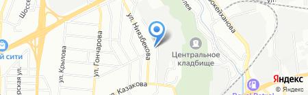 Алтын-Моторс на карте Алматы