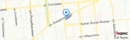 Самрук на карте Алматы