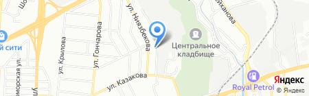 Sarp Land на карте Алматы