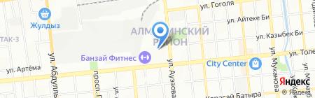 Склады Сант-В на карте Алматы