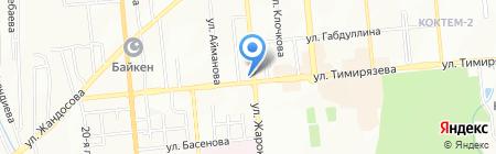 Столплит на карте Алматы