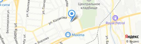 Пышка на карте Алматы