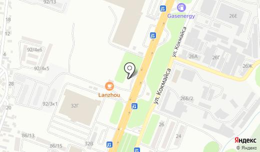 АЗС КазМунайГаз. Схема проезда в Алматы
