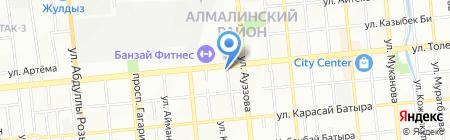 Decart на карте Алматы