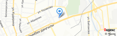 The League на карте Алматы
