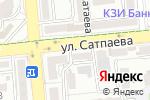 Схема проезда до компании Дивандар в Алматы