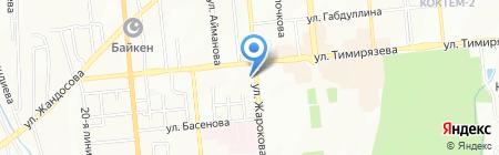 АЛМА ГРАФИКС на карте Алматы