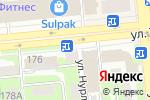 Схема проезда до компании Банкомат, Kaspi bank в Алматы