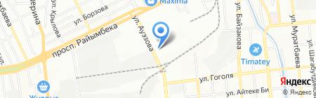 Нуршуак LTD на карте Алматы