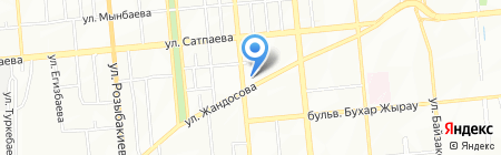 Candy bar La Marka на карте Алматы