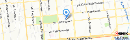 Карамай Продактс на карте Алматы