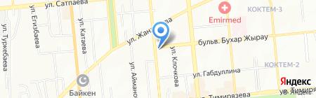 Людмила на карте Алматы