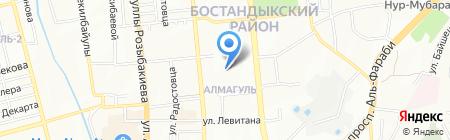 Winner Trade на карте Алматы