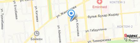 NOVA TREND на карте Алматы