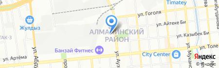 Центр МТС-сервис на карте Алматы