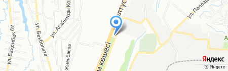 АЗС VeGas на карте Алматы