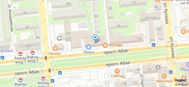 Музкафе, проспект Абая, 117