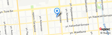 VENTTEX на карте Алматы