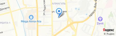 Alma Consulting на карте Алматы