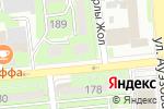 Схема проезда до компании Орион, ТОО в Алматы