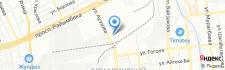 Ashat Cargo Trade на карте Алматы