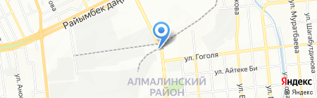 Багдат на карте Алматы