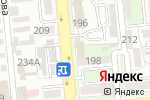 Схема проезда до компании Goodman`s Steak House в Алматы