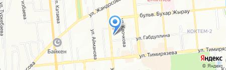 KNIGHT SECURITY на карте Алматы