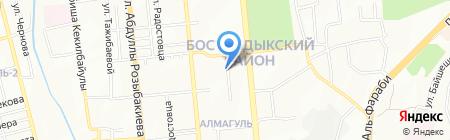 Kameliya на карте Алматы