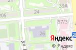 Схема проезда до компании Ясли-сад №7 в Алматы